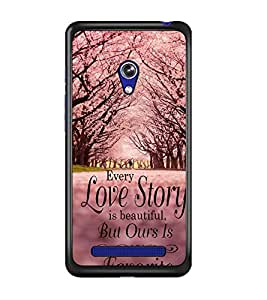 PRINTSWAG QUOTE Designer Back Cover Case for ASUS ZENFONE 5 A501CG