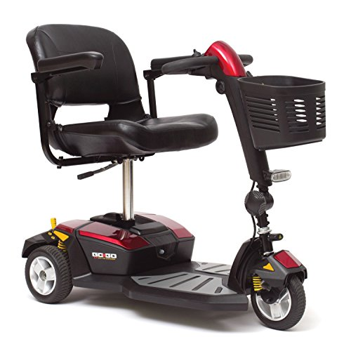 Pride Mobility Go-Go Lx With Cts 3-Wheel Electric Scooter S50Lx + Free Accessories