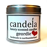 Candela Handmade Scented Candles UK Geordie Valentine 200g