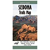 Sedona Trails Map ~ Emmitt Barks Cartography