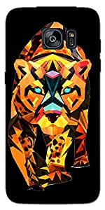 DigiPrints Designer Back cover for Samsung Galaxy S7 -Multicolor