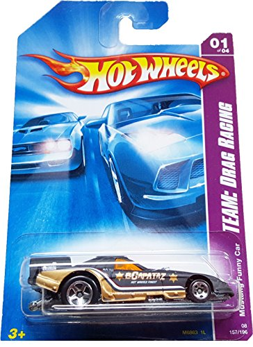 Hot Wheels 2008-157 Team: Drag Racing Mustang Funny Car 1:64 Scale - 1