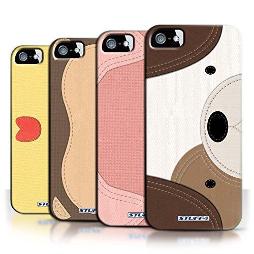 Custodia/Cover Rigide/Prottetiva STUFF4 stampata con il disegno Razze di cani per Apple iPhone 5/5S - Bull terrier
