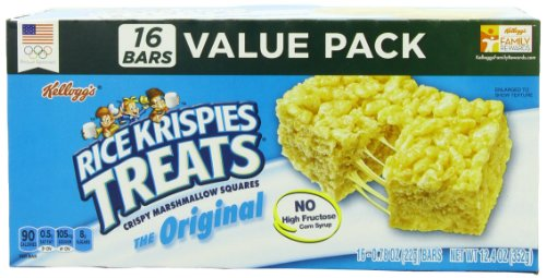 Rice Krispies Treats, The Original, 16-Count Box (Pack of 6) (Rice Squares compare prices)