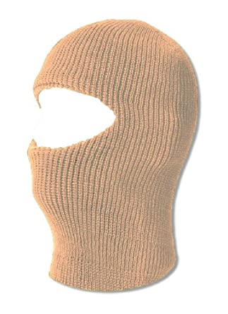 TopHeadwear One 1 Hole Ski Mask - Beige