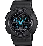 Casio Men's GA100C-8ACR G-Shock Analog-Digital Display Quartz Black Watch