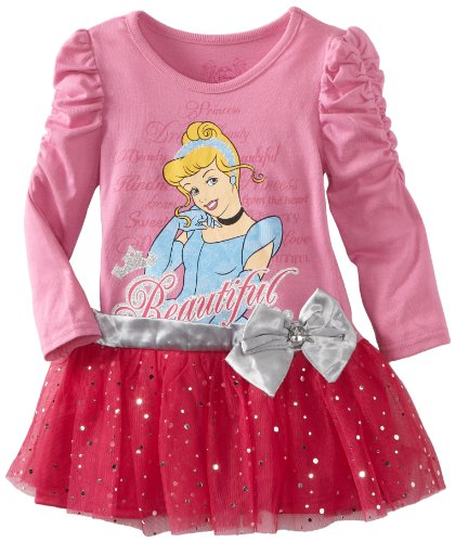 Disney Little Girls' Toddler Cinderella Beautiful Dress