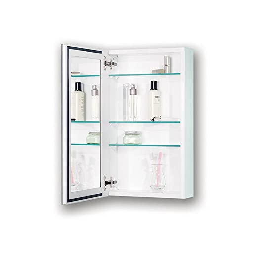 Broan-NuTone 72WH244D Gallery Recessed Medicine Cabinet with Beveled Mirror, 25-Inch, White