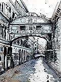 ヴェネツィアIV - アーカイブ紙上のファインアートプリント - 小 : 60 cms X 80 cms