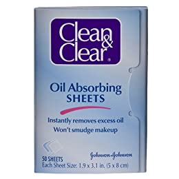 Product Image Clean & Clear Instant Oil-Absorbing Sheets 50 sheets
