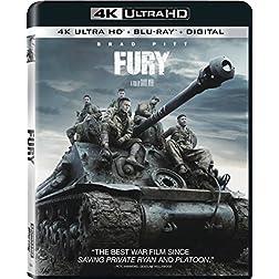 Fury [4K Ultra HD + Blu-ray]