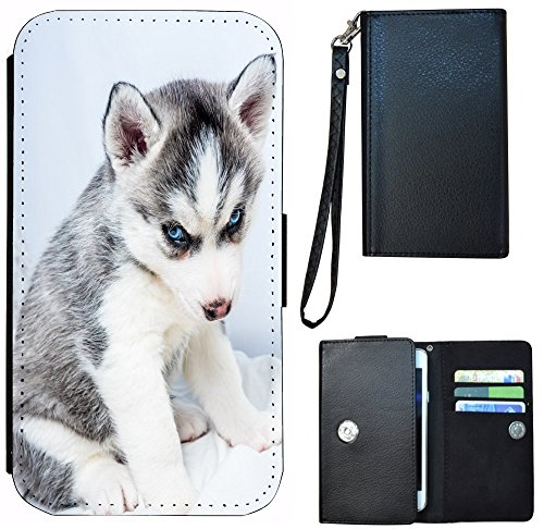 kuna2-flip-cover-per-smartphone-1135-wolf-huski-tierbaby-grau-weiss