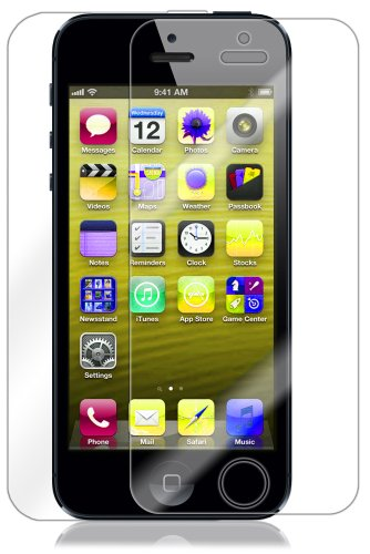 Skinomi TechSkin - Apple iPhone 5 Screen Protector Ultra Clear Shield + Full Body Protective Skin + Lifetime Warranty (AT&T, Sprint, Verizon Wireless)