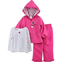 """Young Hearts """"Butterfly"""" Pink Toddler Windsuit Jacket, Top & Pants Set (4T)"""