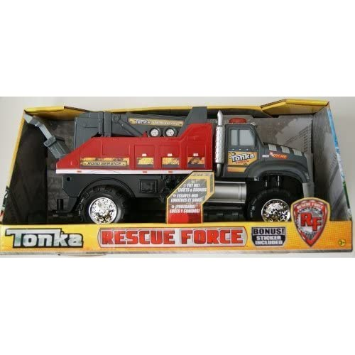 Tonka Rescue Force Towing Service Truck by Hasbro/Funrise