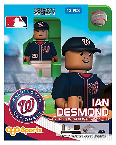 Ian Desmond MLB Washington Nationals Oyo G4S3 Minifigure