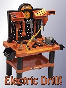 54 Piece Electric Drill Tool Bench Set