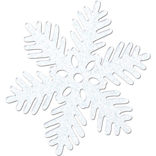 Sparkle Snowflake Party Accessory (1 count) (1/Pkg)