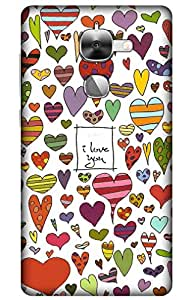 iessential love Designer Printed Back Case Cover for LeEco Le Max2