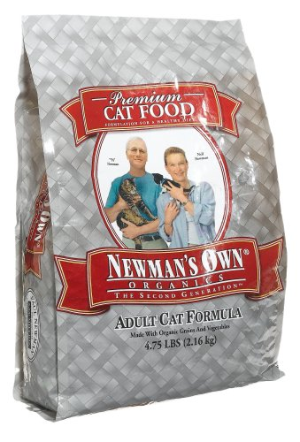 Detail image Newman's Own Organics Adult Cat Formula, 4.75-Pound Bag