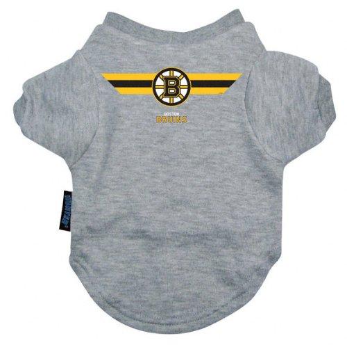 Nhl Boston Bruins Pet T-Shirt, Team Color, Medium front-964471
