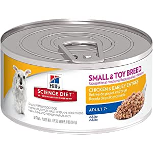 Hill's Science Diet Mature Adult Active Longevity Savory Chicken Entree Dog Food, 5.8-Ounce Can, 24-Pack
