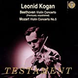 Leonid Kogan Plays Violin Concerto/Violin Concerto No. 5