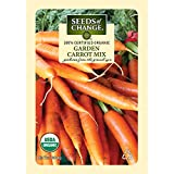 Search : Seeds of Change Certified Organic Carrot, Garden - 700 milligrams, 400 Seeds Pack
