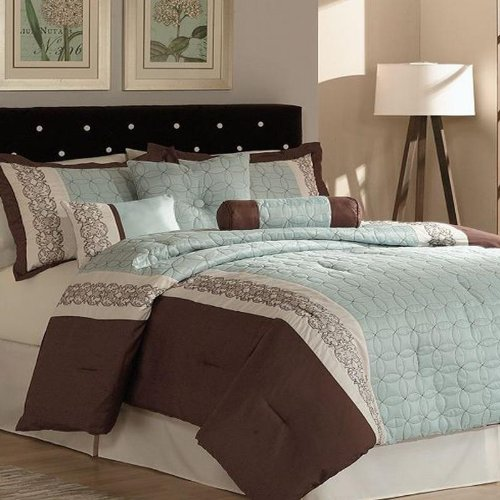 Superb Pem America Ashbury Piece Queen Comforter Bed In A Bag Set