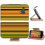 Liili Premium Motorola G 1st Generation Flip Pu Leather Wallet Case Abstract striped digital bright background Photo 20953567 Simple Snap Carrying