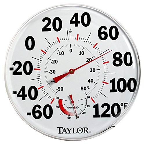 Taylor Precision Products Humidiguide Dial Thermometer (12-Inch) - 1