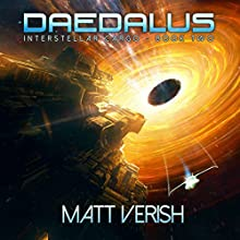 Daedalus: Interstellar Cargo, Book 2 Audiobook by Matt Verish Narrated by Kevin Pierce