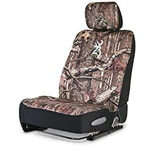 Camo Low Back Bucket Seat Cover Neoprene Universal Ap Pink