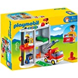 Playmobil 6777 123 Take Along Fire Station