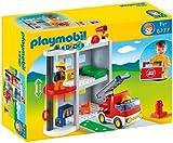 Playmobil 6777 123 Take Along Fire Station