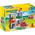 Playmobil 1.2.3 6777 Take Along Fire Station