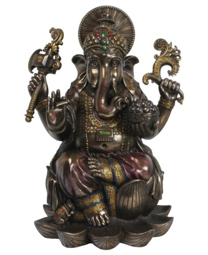 Ganesha Lord of Success Statue, 18 Inches