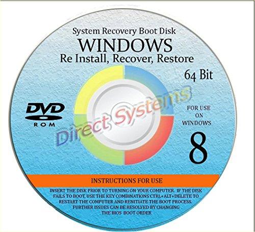 NEW WINDOWS 8 *2015* ANY Version of 64 Bit