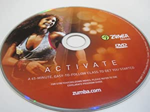 Zumba Fitness Activate DVD from Exhilarate DVDs Set