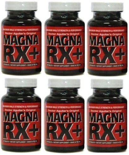 MAGNA RX Penis Enlargement Pills, Male Enhancement System - Maximum Strength Growth Supplement (360 Pills) - 6 Month Supply