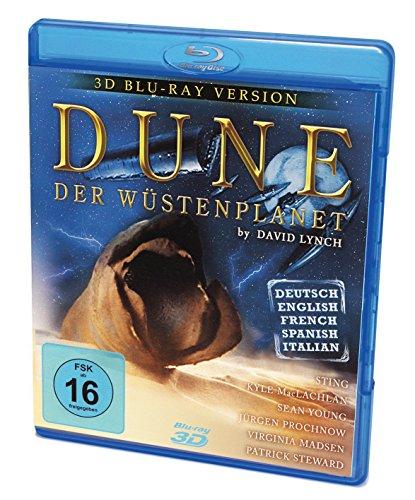 Dune der Wüstenplanet - 3D & 2D Blu-ray