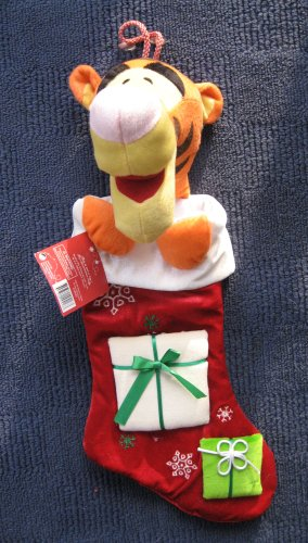 "Disney Tigger 21"" Holiday Christmas Stocking"
