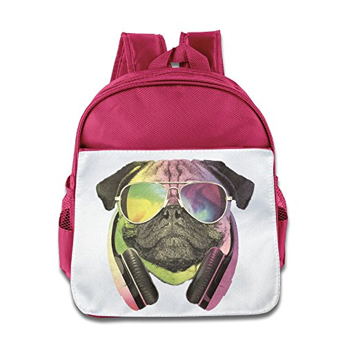 [TuSamLOO Cool Dog Kid's Mini Backpack/Travel Bag Pink] (Victorias Secret Costume Ideas)