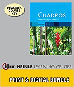 Amazon.com: Bundle: Cuadros Student Text, Volume 1 of 4: Introductory