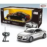 "11.4"" 1:14 Audi Tt Rc Radio Controlled Silver"