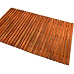 Wooden shower mat bath duckboard hard...