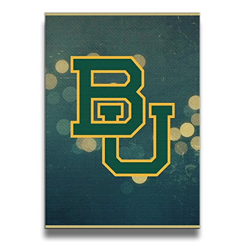 [BENZ47' Baylor University Frameless Art Photo Frame Picture Frame Wood Wall Frame - Display Photo Home Decor Wall Art - Share Your Photos. Charge In] (Matt Barkley Costume)