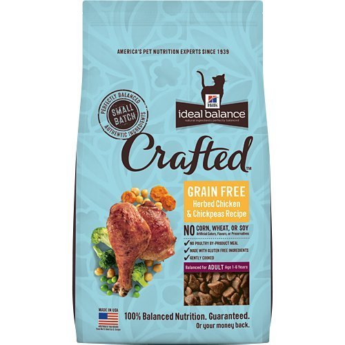 Hill's Ideal Balance Crafted Grain Free Herbed Chicken & Chickpeas Recipe