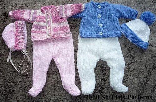 Emmy Pram Suit Doll Knitting Pattern 149 UK
