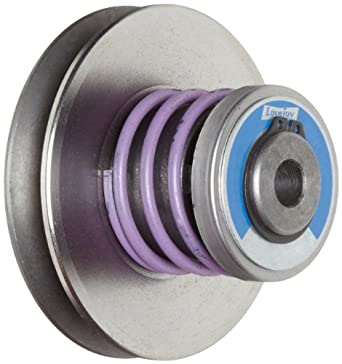 """Lovejoy 2510 Econoline Variable Speed Pulley, 3/4"""" Bore, 3/16 x 3/32"""" Keyway, 36 inch-pounds Torque Capacity, 2.67"""" OD, 4.06"""" Overall Length"""